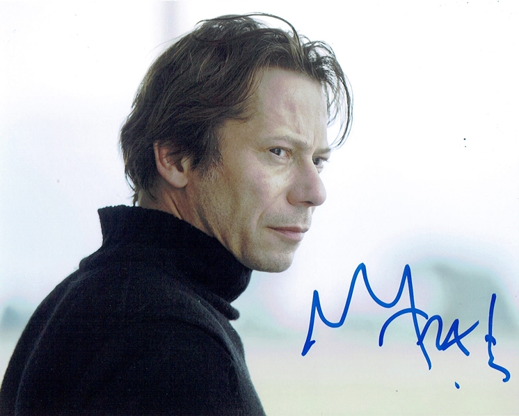 Mathieu Amalric Signed Photo