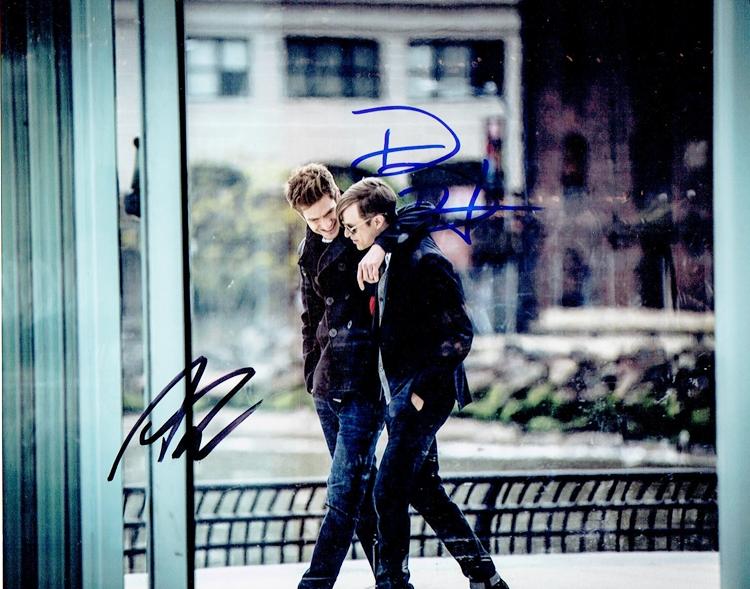 Andrew Garfield & Dane DeHaan Signed Photo