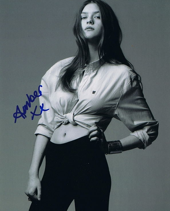 Amber Anderson Signed Photo