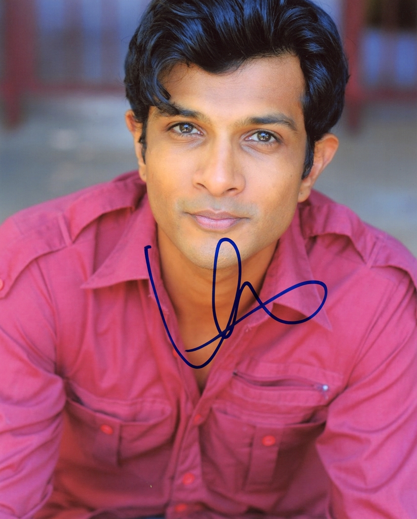 Utkarsh Ambudkar Signed Photo