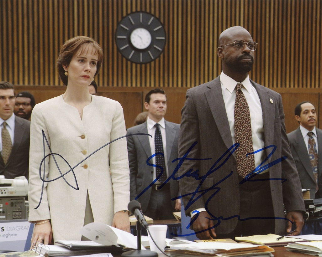 Sarah Paulson & Sterling K. Brown Signed Photo