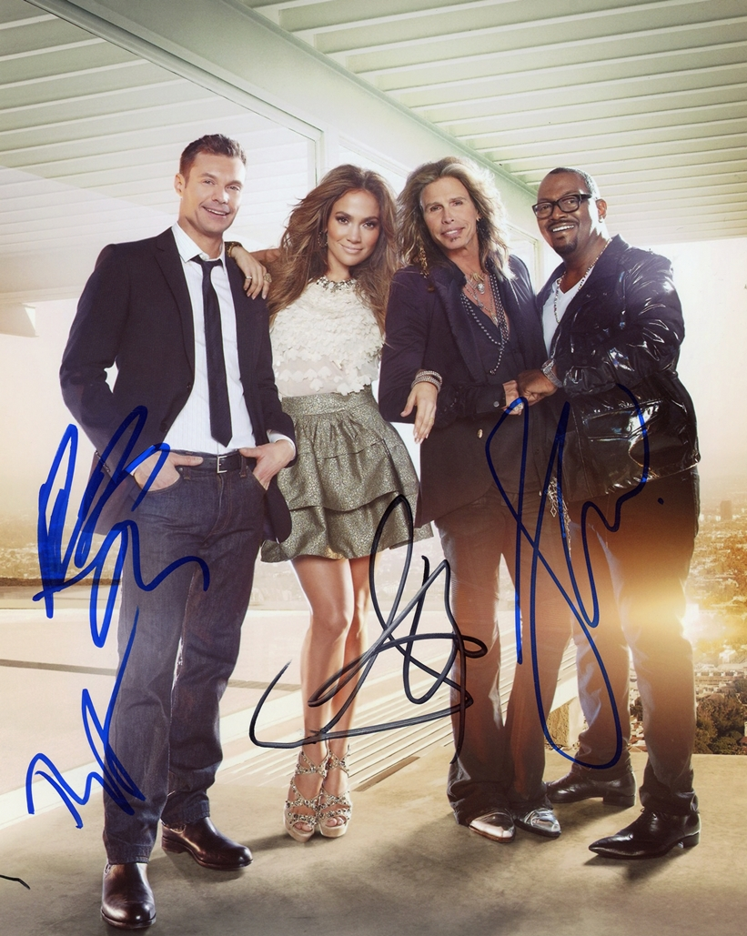 American Idol Signed Photo