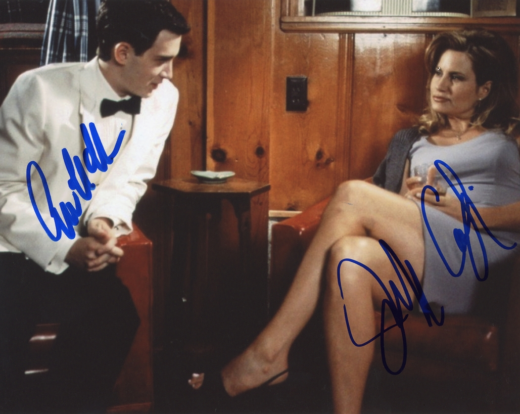 Eddie Kaye Thomas & Jennifer Coolidge Signed Photo