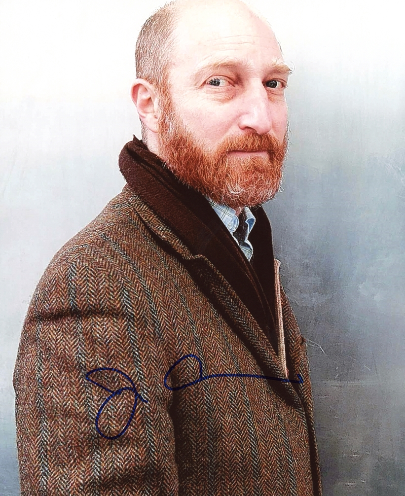 Jonathan Ames Signed Photo
