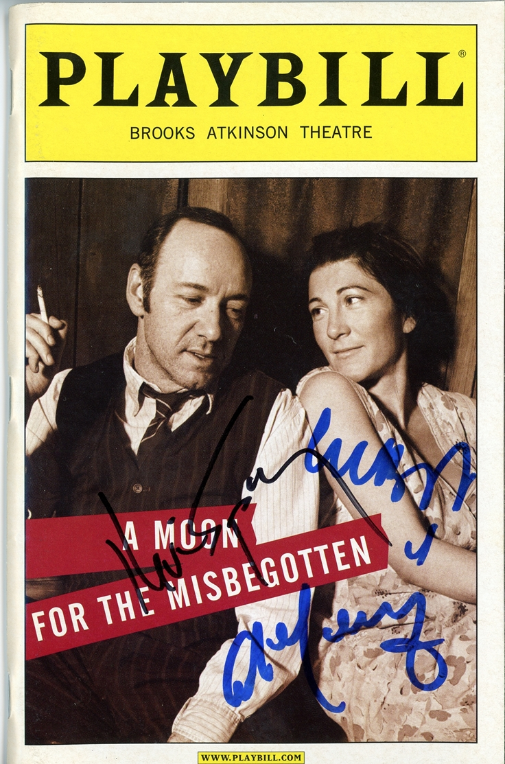 A Moon for the Misbegotten Signed Playbill