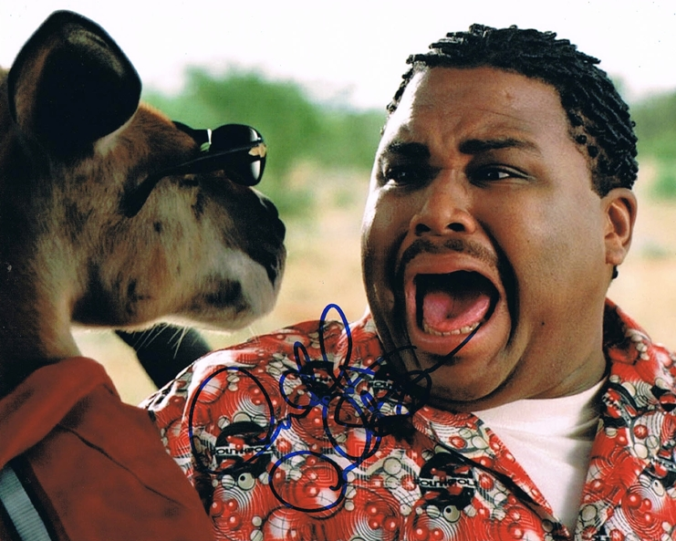 Anthony Anderson Signed Photo