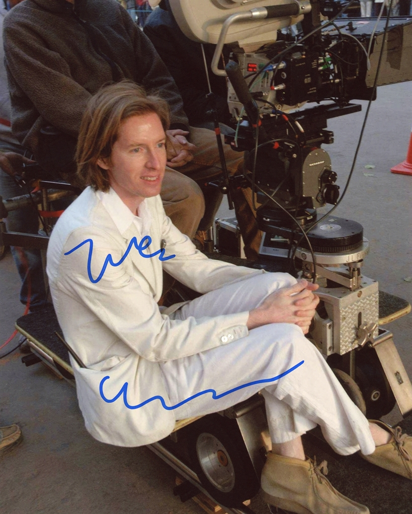 Wes Anderson Signed Photo