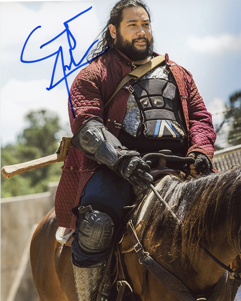 Cooper Andrews Signed Photo