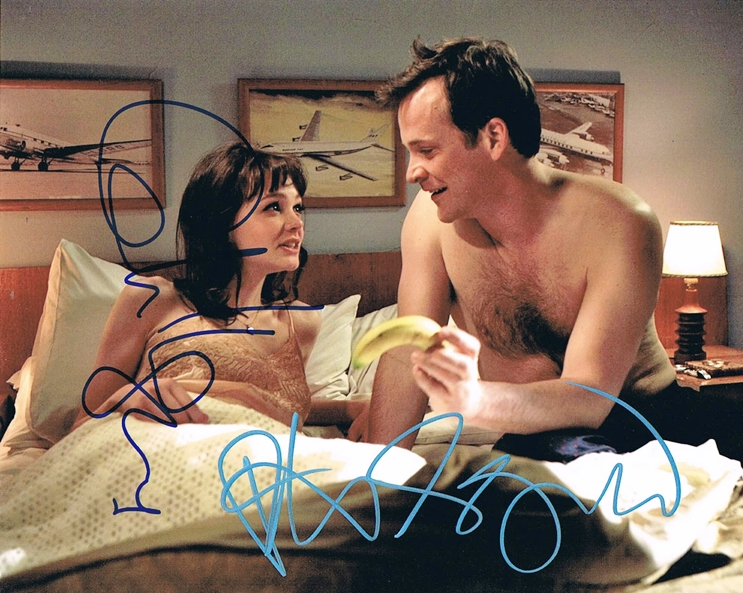 Carey Mulligan & Peter Sarsgaard Signed Photo