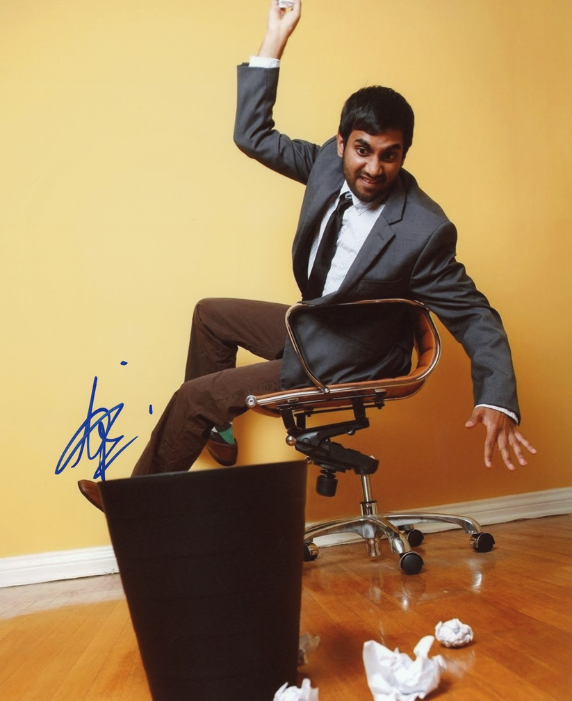 Aziz Ansari Signed Photo