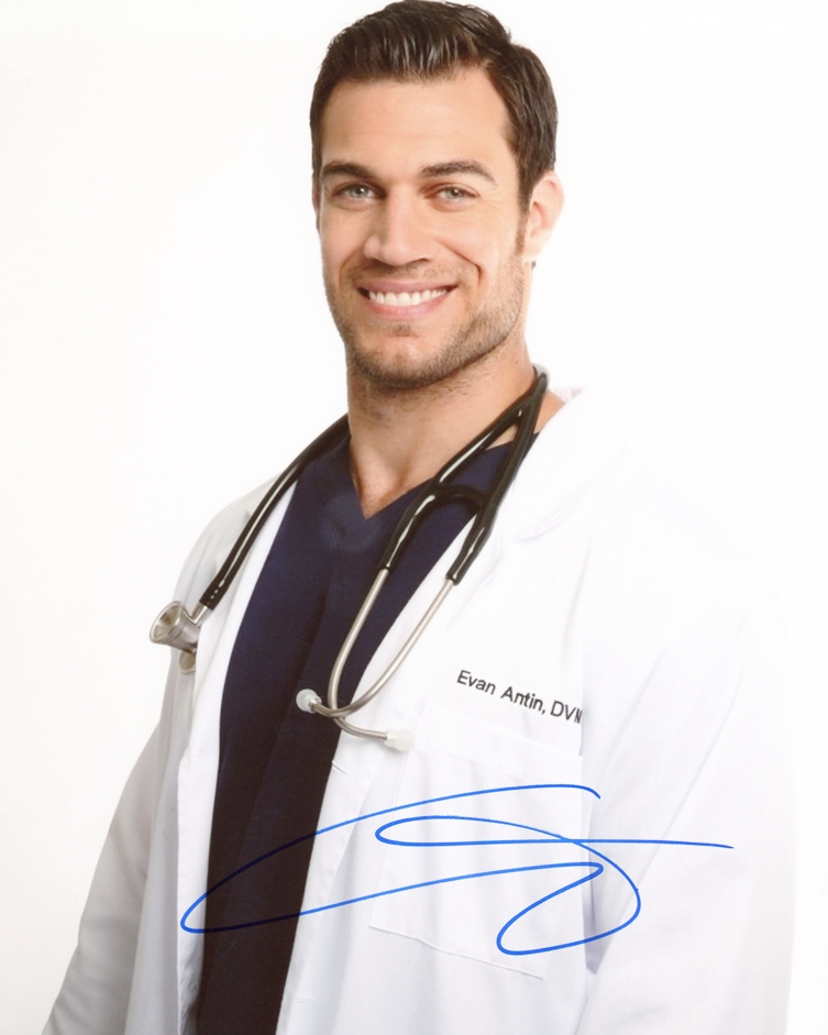 Dr. Evan Antin Signed Photo