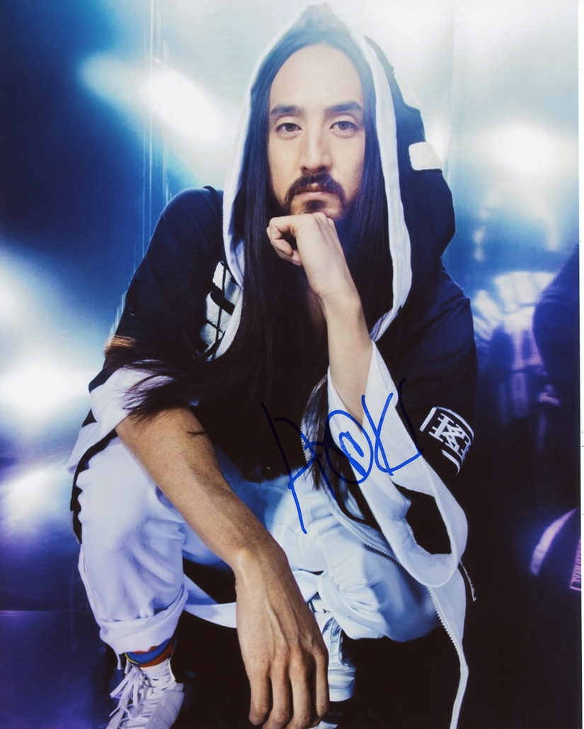Steve Aoki Signed Photo