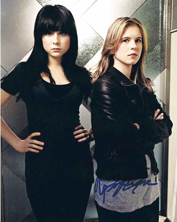 Alessandra Torresani & Magda Apanowicz Signed Photo