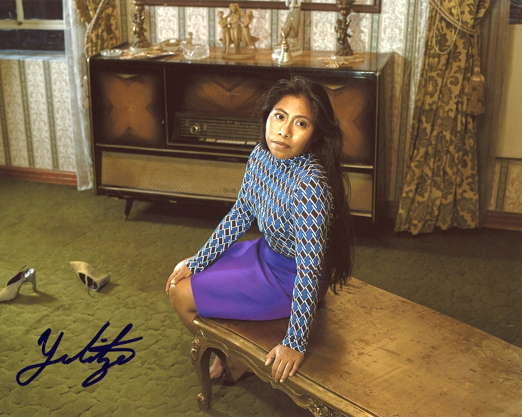 Yalitza Aparicio Signed Photo