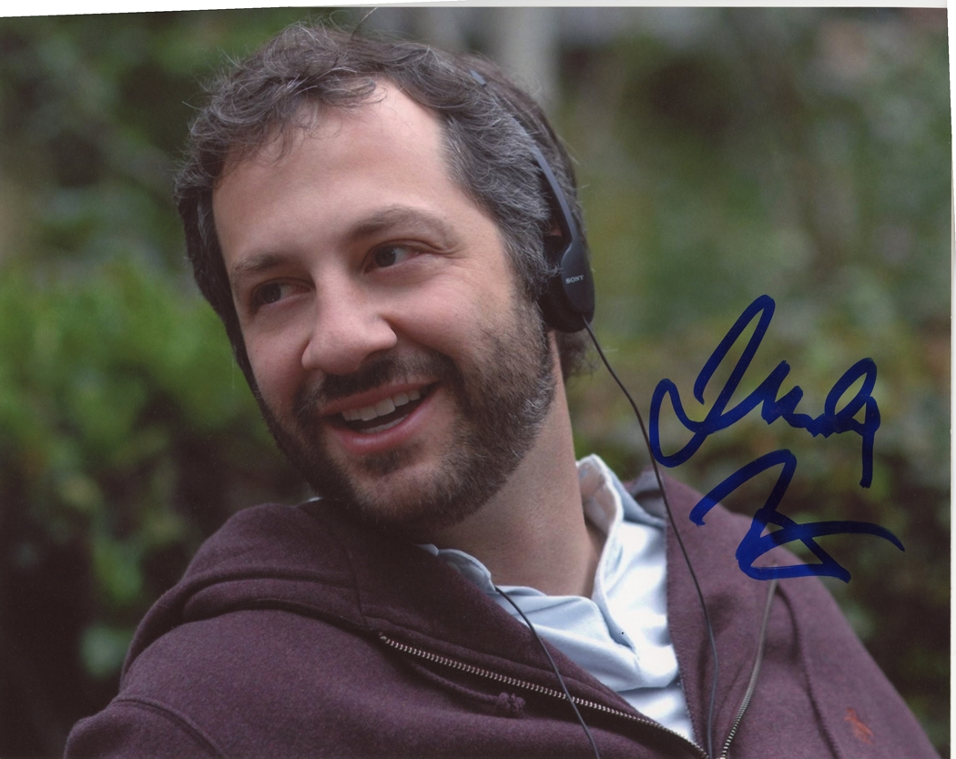 Judd Apatow Signed Photo