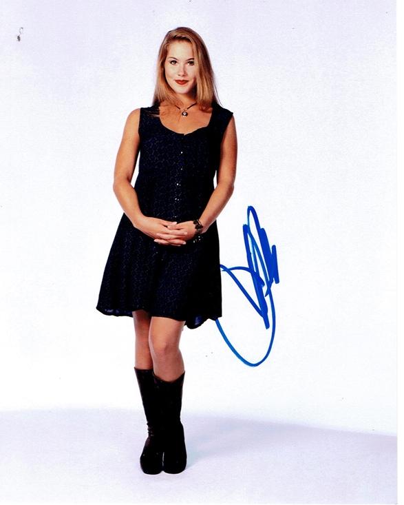Christina Applegate Signed Photo