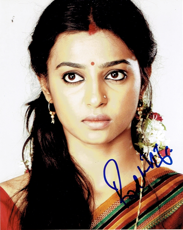 Radhika Apte Signed Photo