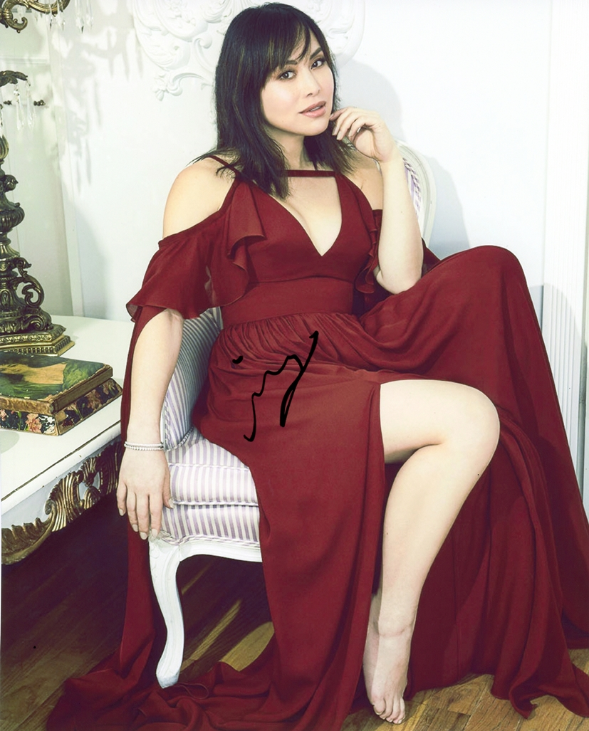 Ivory Aquino Signed Photo