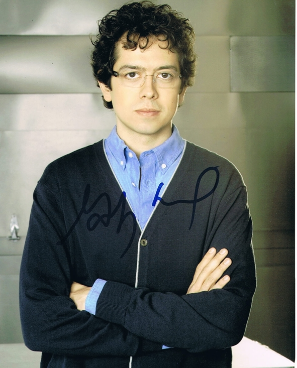Geoffrey Arend Signed Photo