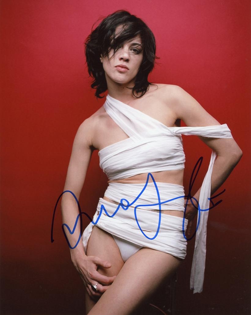 Asia Argento Signed Photo