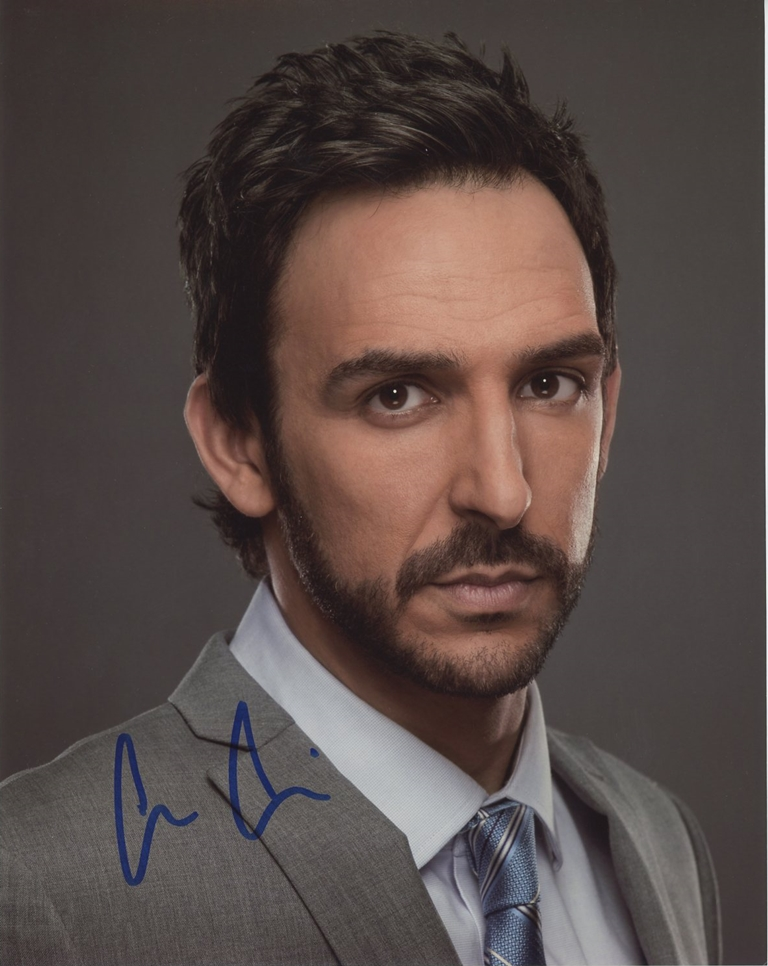 Amir Arison Signed Photo