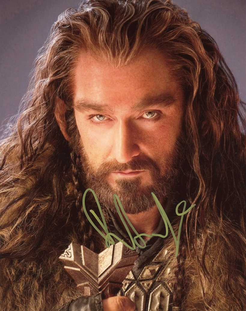 Richard Armitage Signed Photo