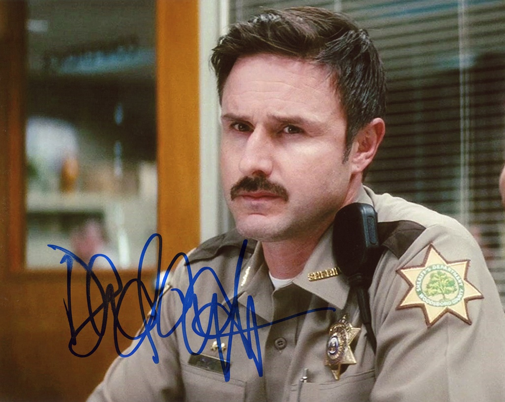 David Arquette Signed Photo