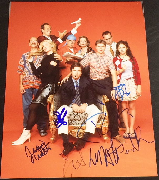 Arrested Development Cast Signed Photo