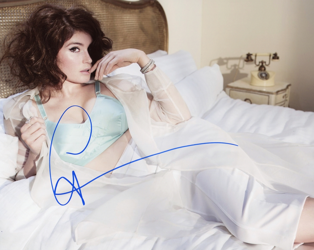 Gemma Arterton Signed Photo