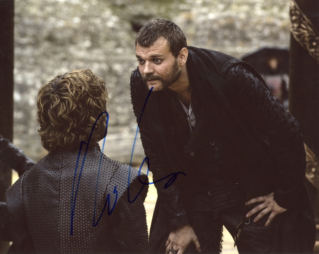 Pilou Asbaek Signed Photo