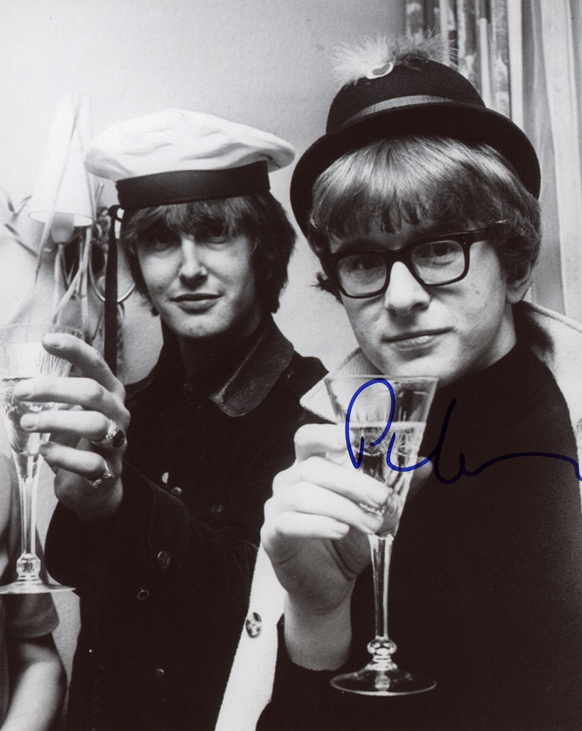Peter Asher Signed Photo