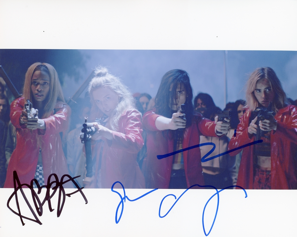 Assassination Nation Signed Photo