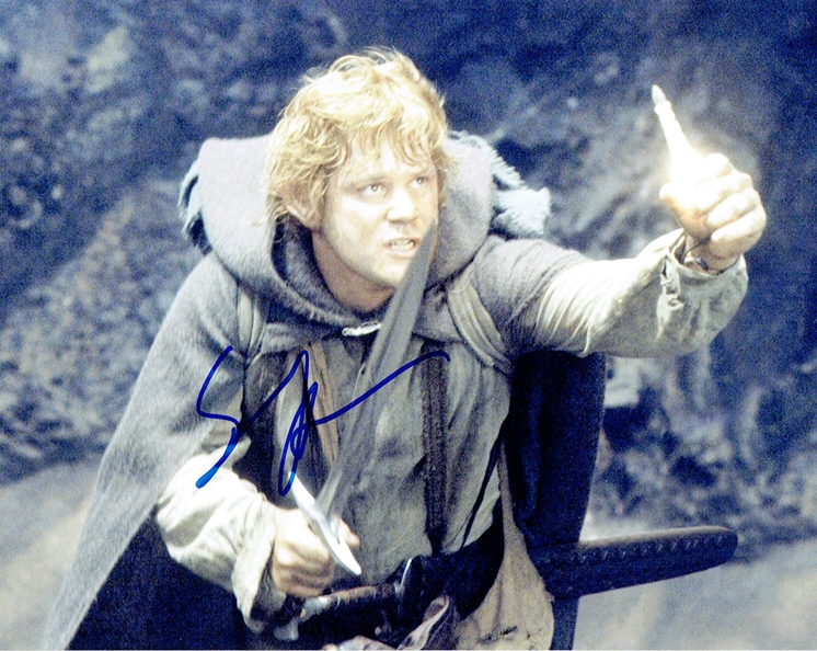Sean Astin Signed Photo