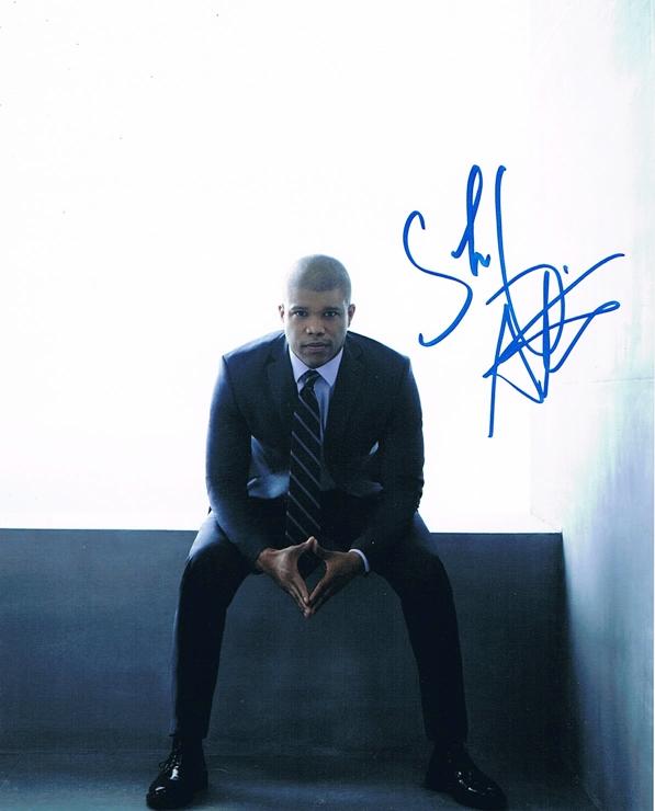 Sharif Atkins Signed Photo