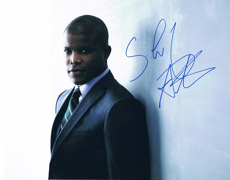 Sharif Atkins Signed Photo