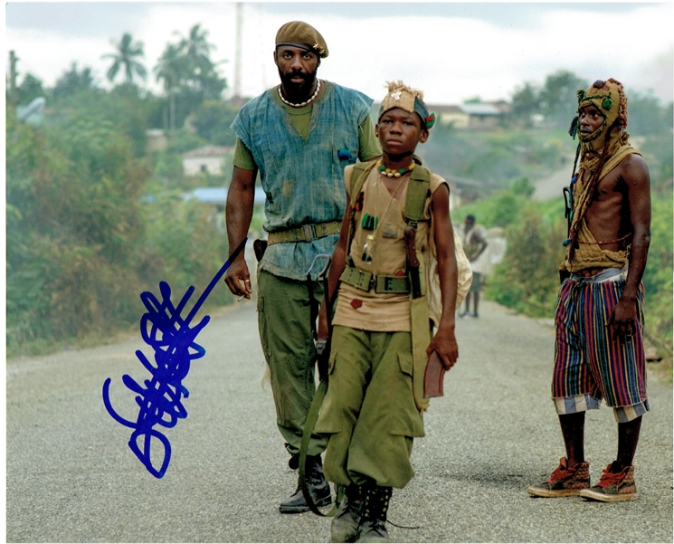 Abraham Attah Signed Photo