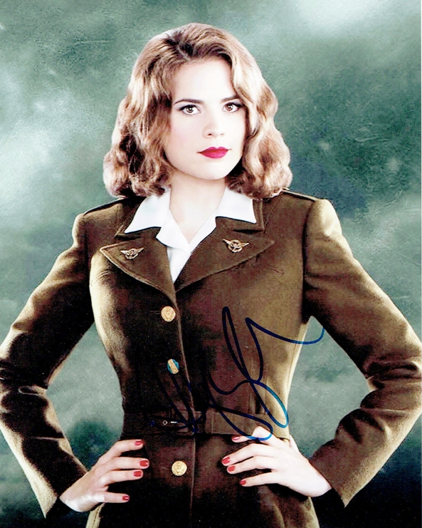Hayley Atwell Signed Photo