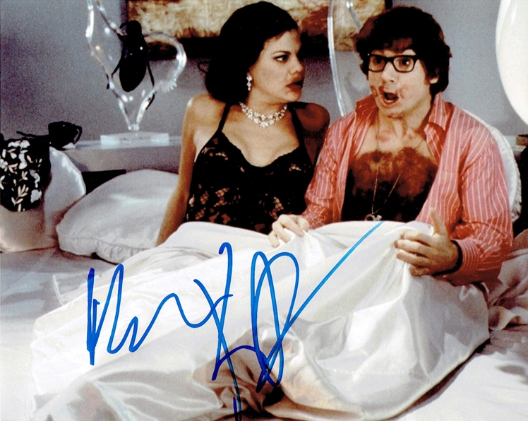 Mike Myers & Kristen Johnston Signed Photo