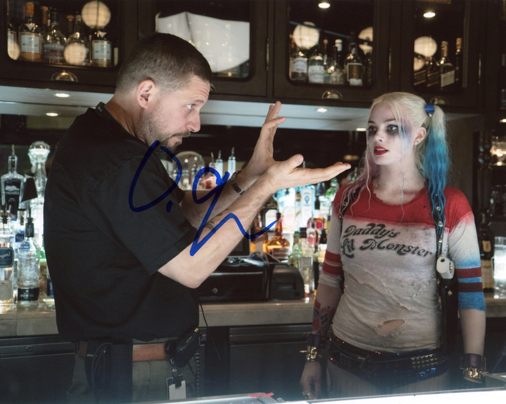 David Ayer Signed Photo