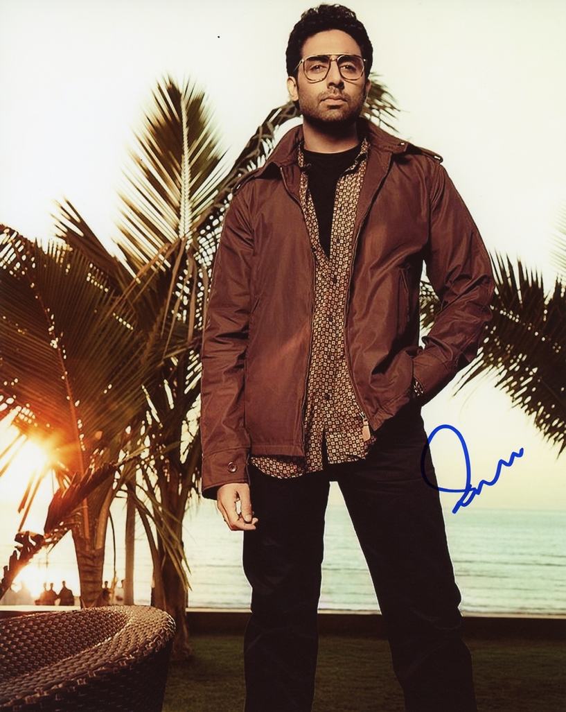 Abhishek Bachchan Signed Photo