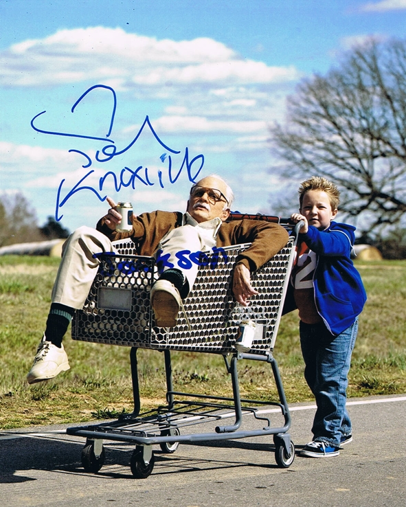Johnny Knoxville & Jackson Nicoll Signed Photo