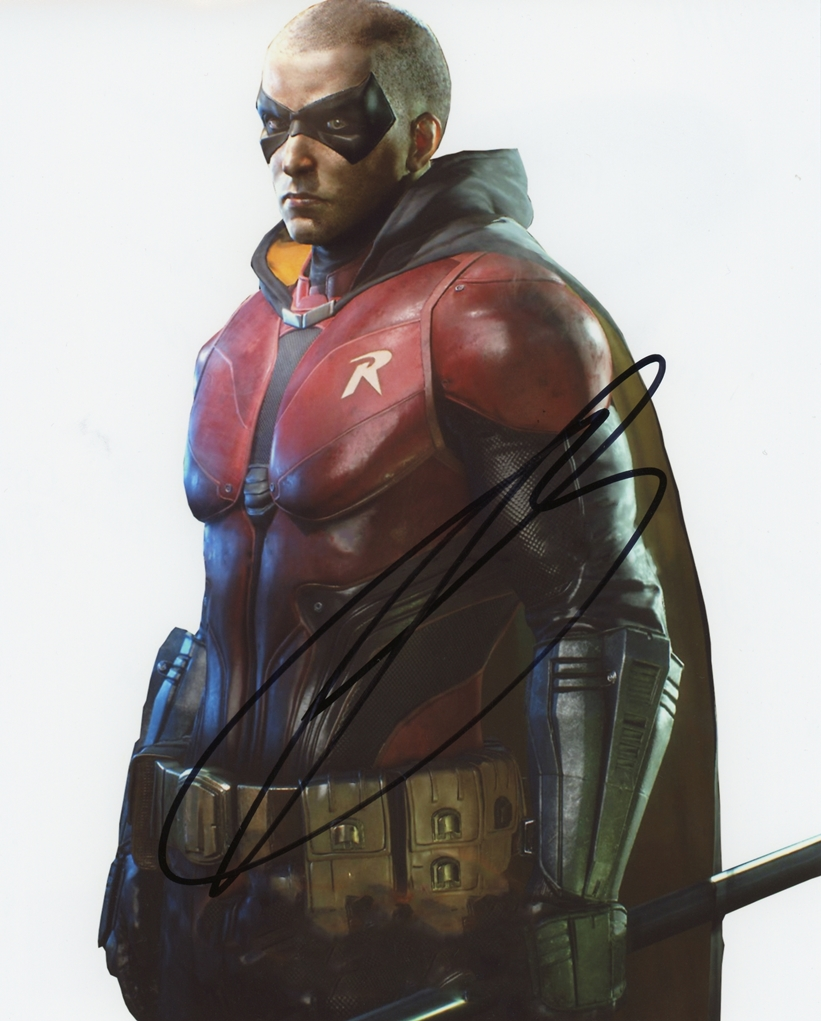 Troy Baker Signed Photo