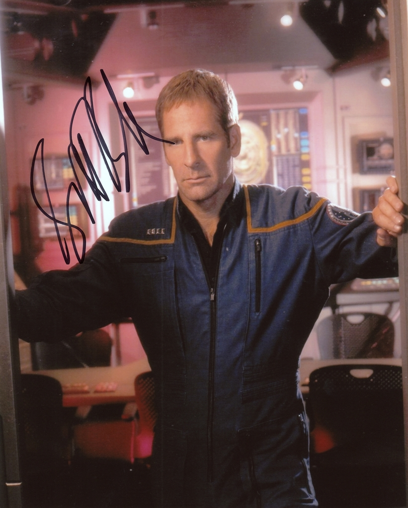 Scott Bakula Signed Photo