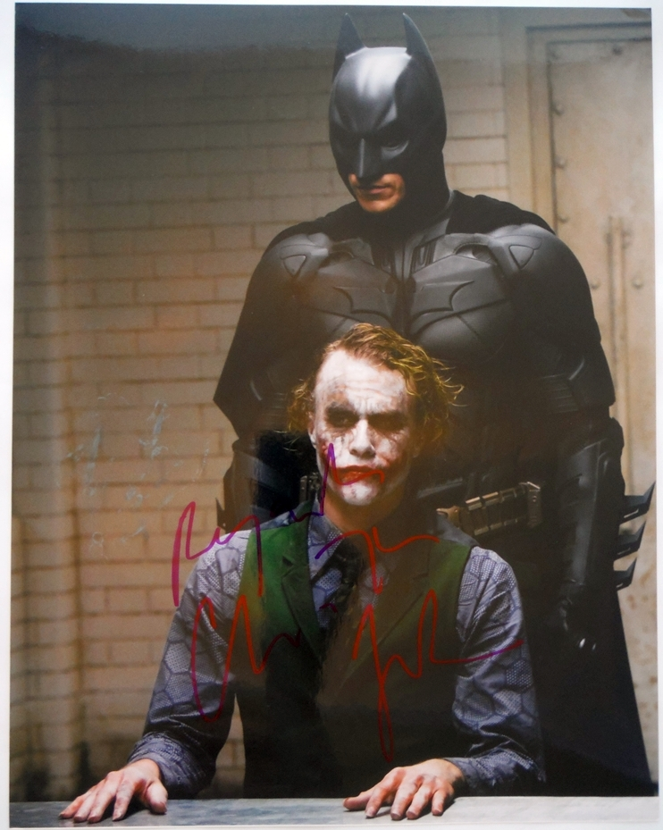 Christian Bale Signed Photo