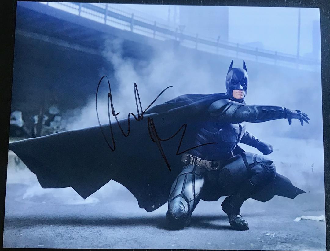 Christian Bale Signed Photo
