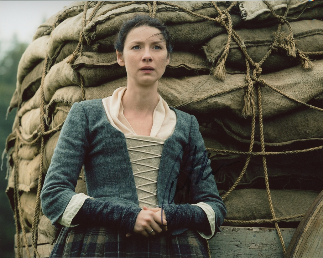 Caitriona Balfe Signed Photo