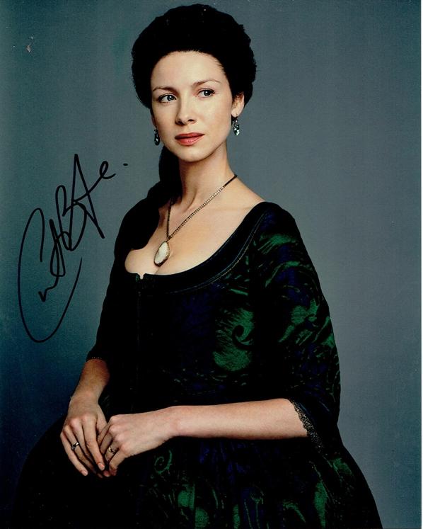 Caitriona Balfe Signed Photo