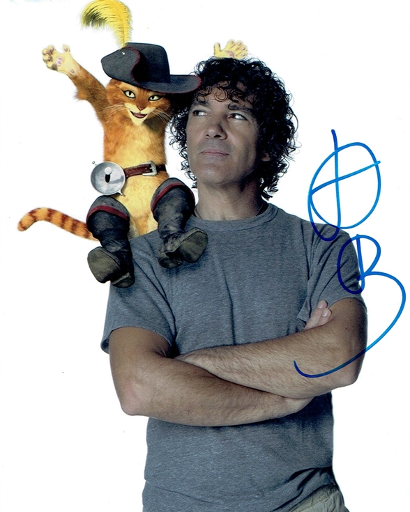 Antonio Banderas Signed Photo