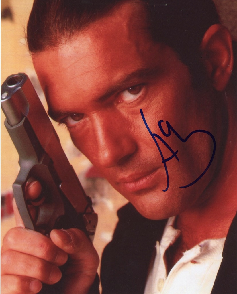 Antonio Banderas Signed Photo