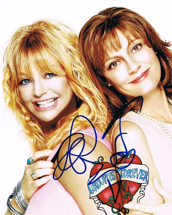 Goldie Hawn & Susan Sarandon Signed Photo
